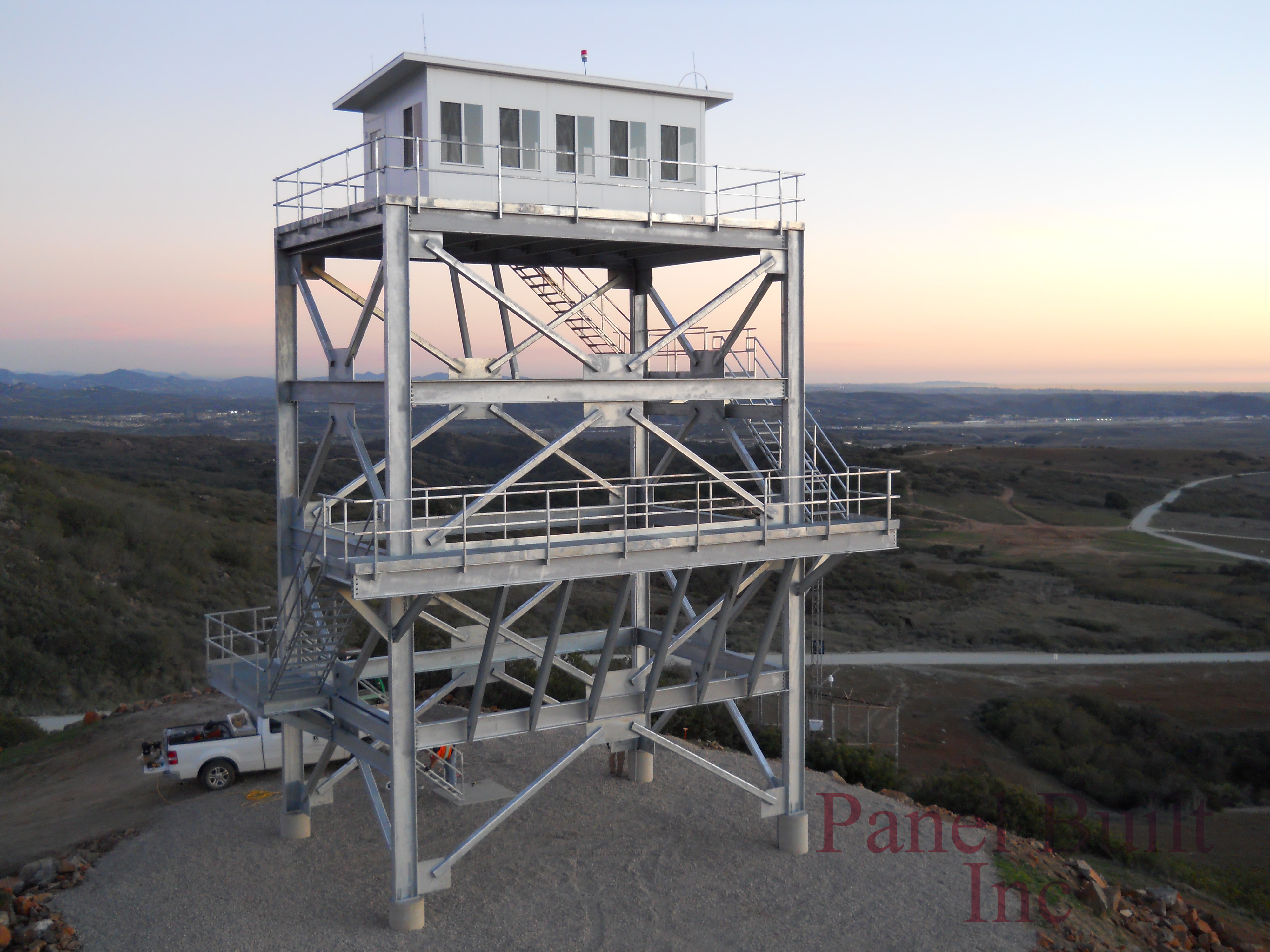 Fire Towers For Sale Modular Towers A Panel Built Inc