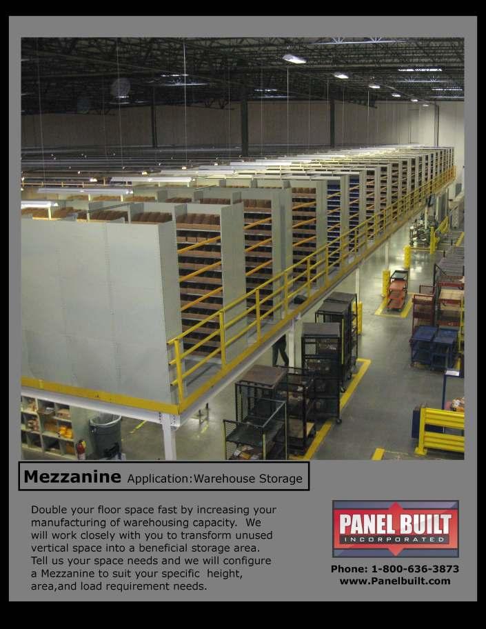 Mezzanines for Warehouse Storage